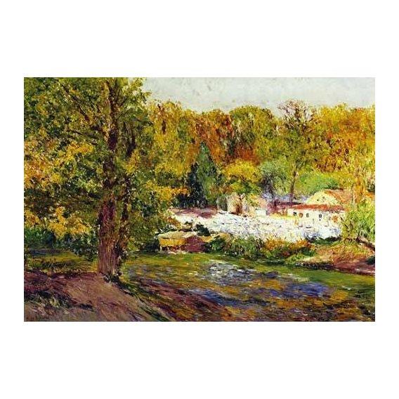 pinturas de paisagens - Quadro -Paisaje - Madrid-