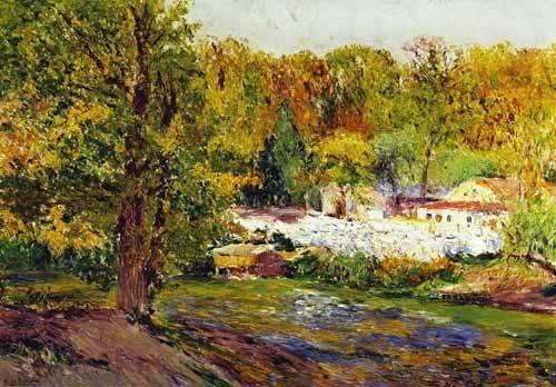 tableaux-de-paysages - Tableau -Paisaje - Madrid- - Beruete, Aureliano de