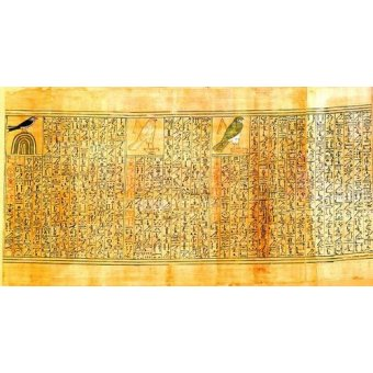 Tableaux orientales - Tableau -Libro de los muertos (de Ani): Ani como diferentes aves- - _Anónimo Egipcio