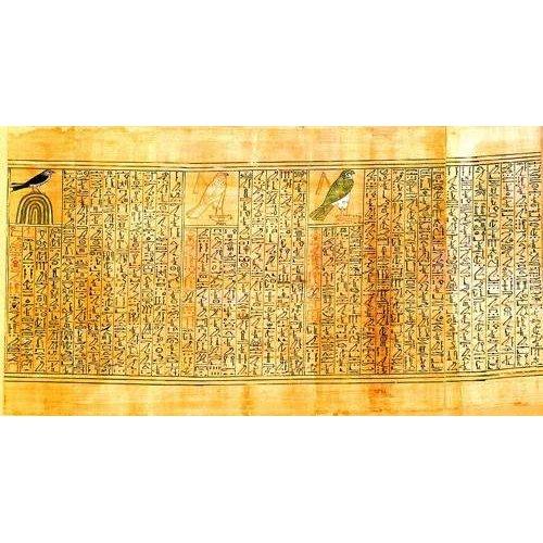 imagens étnicas e leste - Quadro -Libro de los muertos (de Ani): Ani como diferentes aves-