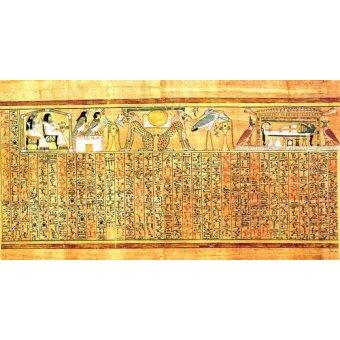 Tableaux orientales - Tableau -Libro de los muertos (de Ani): Ayer y hoy- - _Anónimo Egipcio