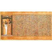 Tableau -Libro de los muertos (de Ani): Osiris e Isis-