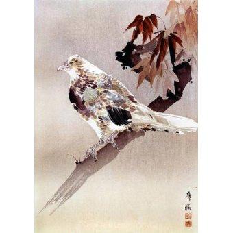 Tableaux orientales - Tableau -Pájaro de cuerpo rechoncho- - _Anónimo Chino