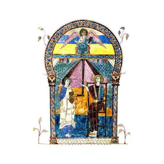 imagens religiosas - Quadro -Beato de Liébana, codice de Gerona-