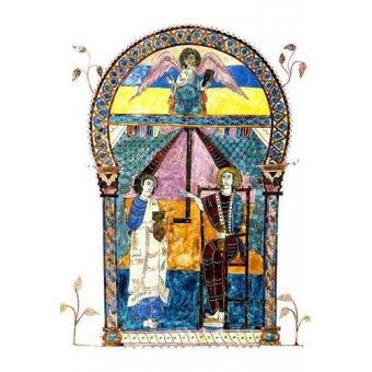 Tableaux religieuses - Tableau -Beato de Liébana, codice de Gerona- - _Anónimo Español