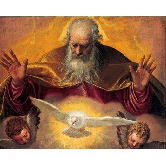 Tableaux religieuses - Tableau -El Padre Eterno- - Veronese, Paolo