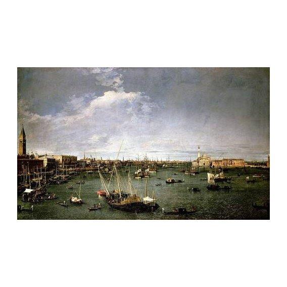 pinturas de paisagens - Quadro -La dársena de San Marcos-