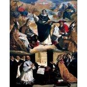 Tableau -Apoteosis de Santo Tomás de Aquino-