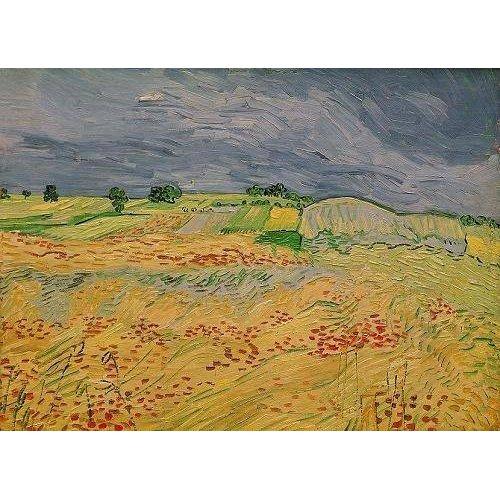 Tableau -La plaine d' Auvers, 1890-