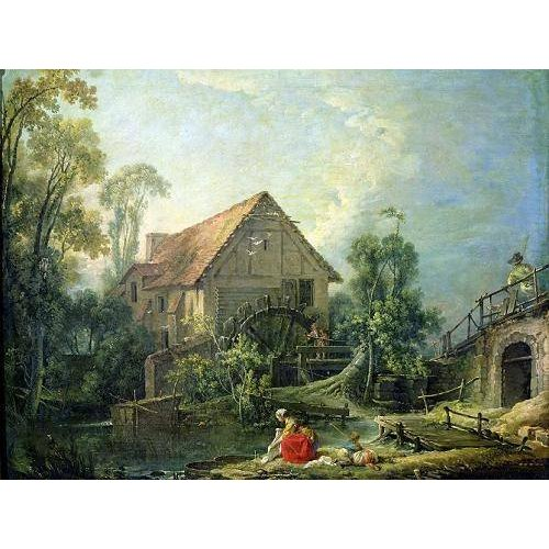 Tableau -The Mill, 1751 (oil on canvas)-