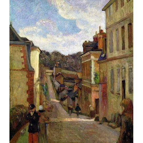 Tableau -A Suburban Street, 1884-