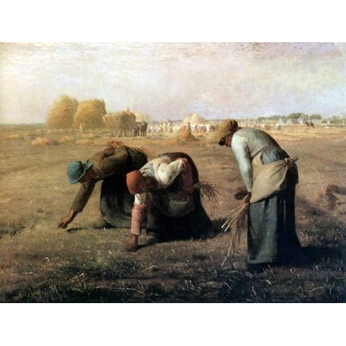 Tableau -Des Glaneuses, 1857-