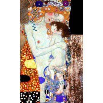 Tableaux de Personnages - Tableau -Les Trois Âges de la femme (Détail)- - Klimt, Gustav