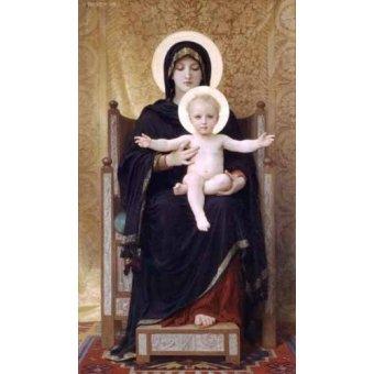 Tableau -La Virgen sentada-