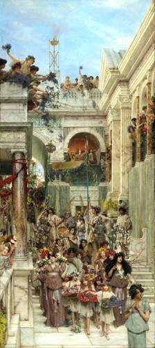 tableaux-de-personnages - Tableau -Primavera- - Alma-Tadema, Lawrence