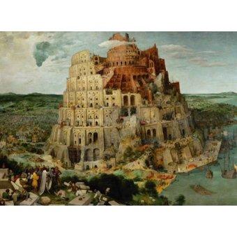 Tableaux religieuses - Tableau -La Tour de Babel- - Bruegel