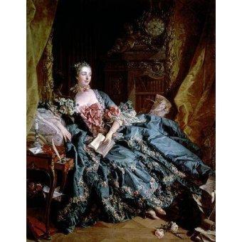 Tableau -Madame de Pompadour-