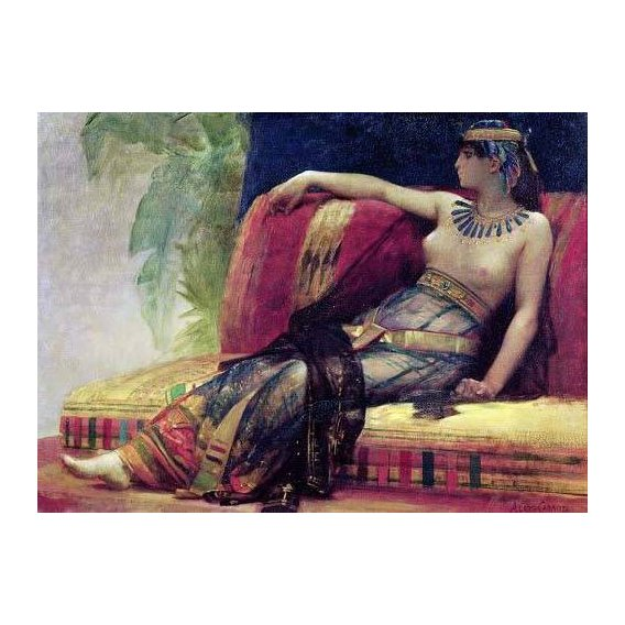 pinturas do retrato - Quadro -Cleopatra (69-30 BC)-