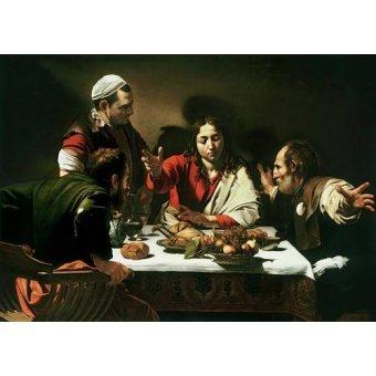 Tableau -Le Souper à Emmaüs- Caravage