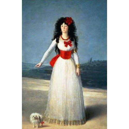 Tableau -La Duquesa de Alba, 1795-