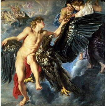 Tableaux de Nus - Tableau -The Kidnapping of Ganymede- - Rubens, Peter Paulus