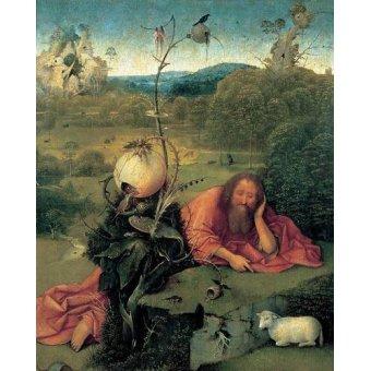 Tableaux religieuses - Tableau -San Juan Bautista en meditación- - Bosco, El (Hieronymus Bosch)