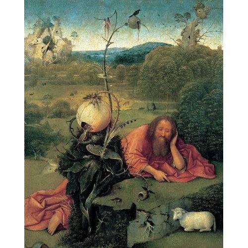 Tableau -San Juan Bautista en meditación-