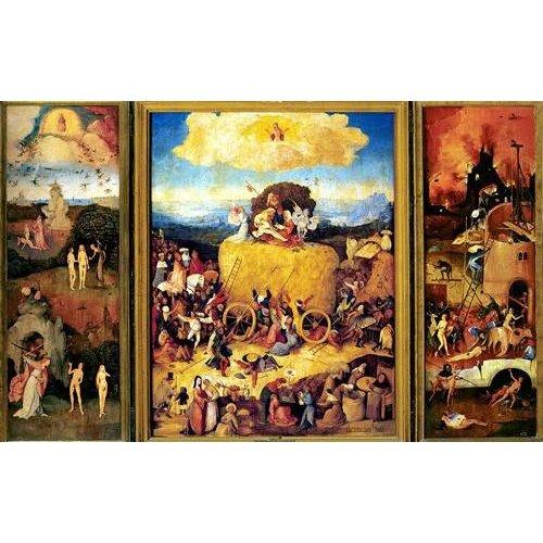 Tableau -El Carro De Heno (Tríptico completo)-.