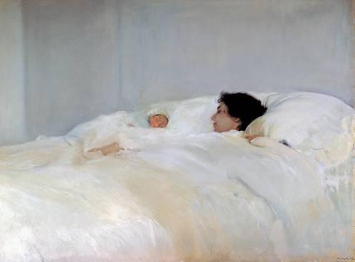 tableaux-de-personnages - Tableau -La mère- - Sorolla, Joaquin