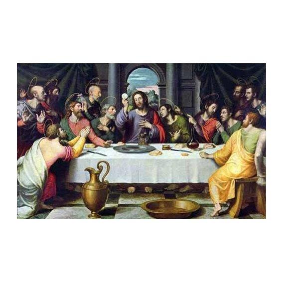 imagens religiosas - Quadro -La Ultima Cena-