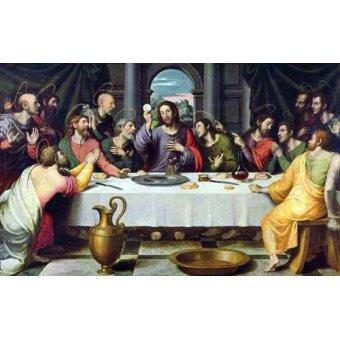Tableaux religieuses - Tableau -La Ultima Cena- - Juanes, Juan de