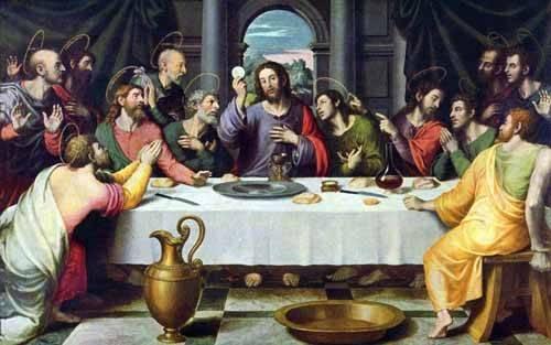 tableaux-religieuses - Tableau -La Ultima Cena- - Juanes, Juan de
