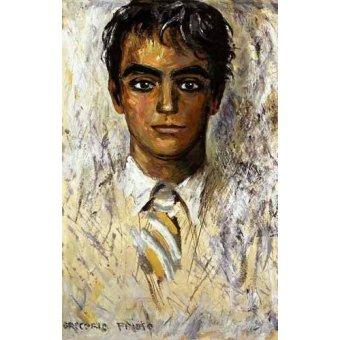 Tableau -Portrait de Federico Garcia Lorca-