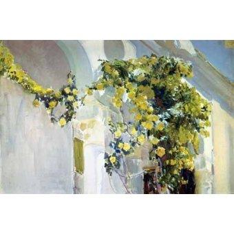 Tableau -Jardin de la maison de l'artiste (I)-