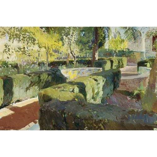 Tableau -Jardin de la maison de l'artiste (IV)-