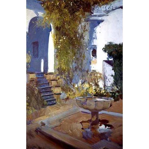 Tableau -Jardin de la maison de l'artiste (V)-