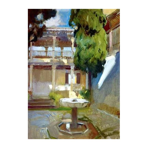 pinturas de paisagens - Quadro -La Alhambra de Granada (I)-