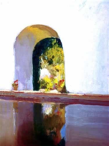 tableaux-de-paysages - Tableau -Étang- - Sorolla, Joaquin