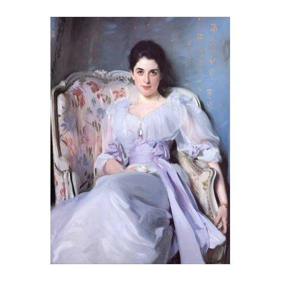 pinturas do retrato - Quadro -Lady Agnew-