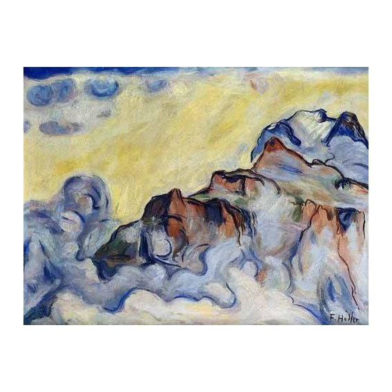 pinturas abstratas - Quadro -Landscape-