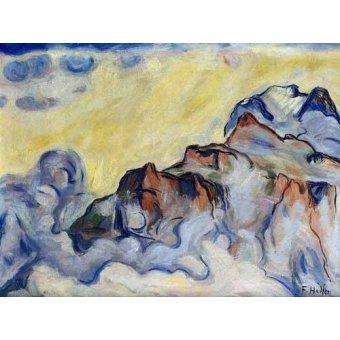 Tableaux abstraits - Tableau -Landscape- - Hodler, Ferdinand