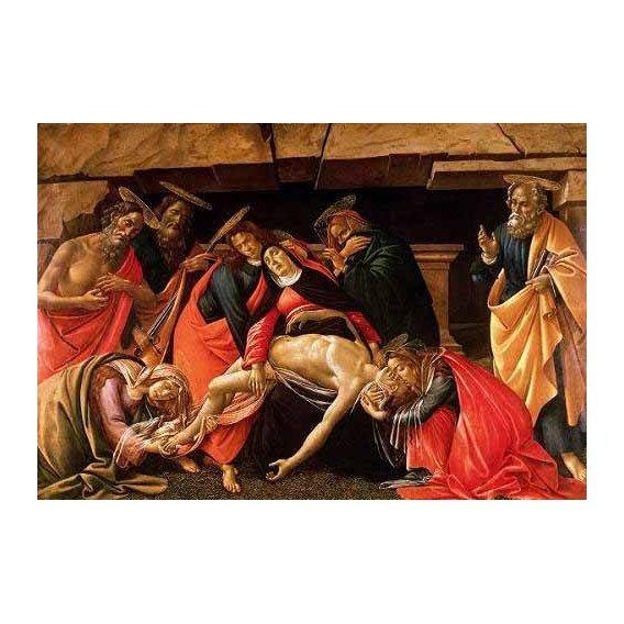 imagens religiosas - Quadro -Lamentación de Cristo-