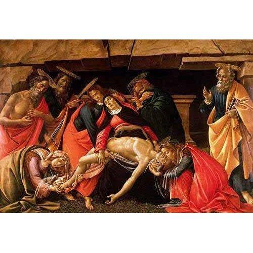 Tableau -Lamentación de Cristo-