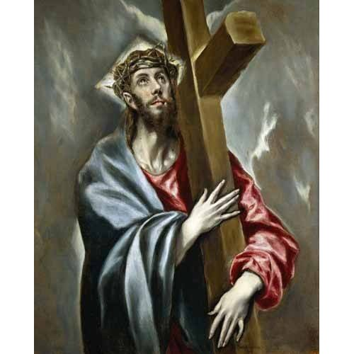 Tableau -Cristo portando la Cruz-