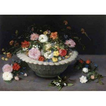 Tableaux nature morte - Tableau -Florero- - Bruegel
