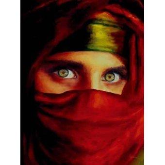 Tableaux modernes - Tableau femme arabe -Moderne CM0940- - Medeiros, Celito