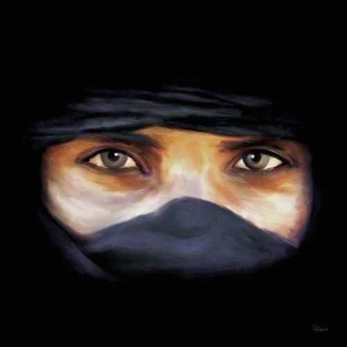 Tableau femme arabe -Moderne CM1250-