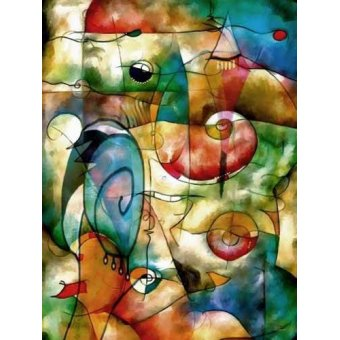 Tableaux abstraits - Tableau -Moderno CM1278- - Medeiros, Celito