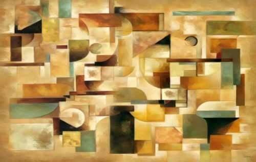 tableaux-abstraits - Tableau -Moderno CM1279- - Medeiros, Celito