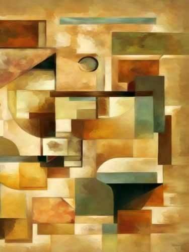 tableaux-abstraits - Tableau -Moderno CM1279b- - Medeiros, Celito